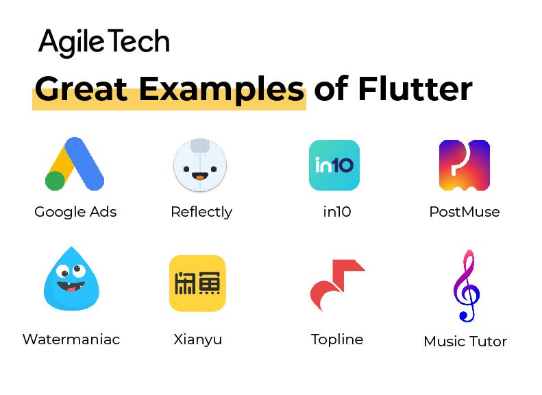 great examples of flutter app