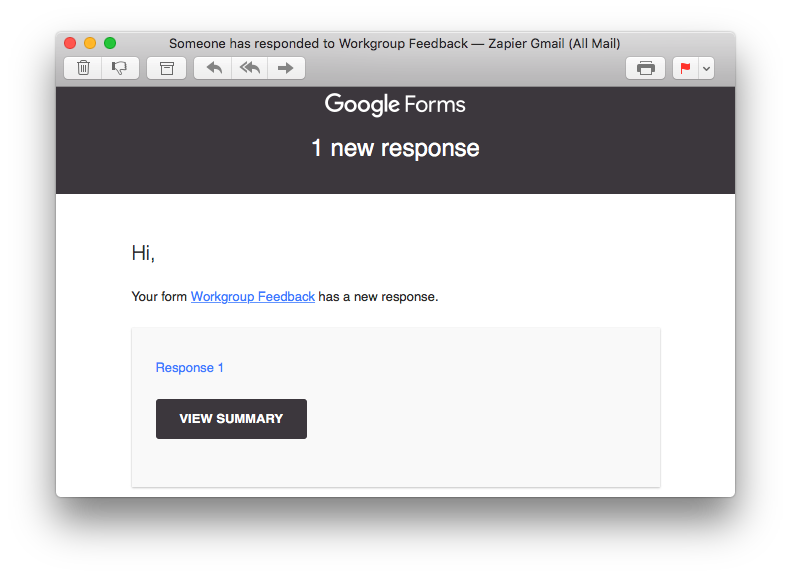 How to get Customized Email Notifications from Google Forms