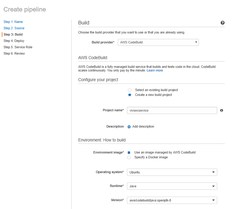 Multiple Artifacts in AWS Codepipeline and CodeBuild