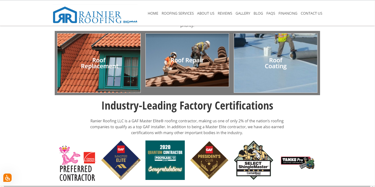How To Choose A Roofing Company In Tampa, FL. Rainier Roofing LLC manufacturer certifications.
