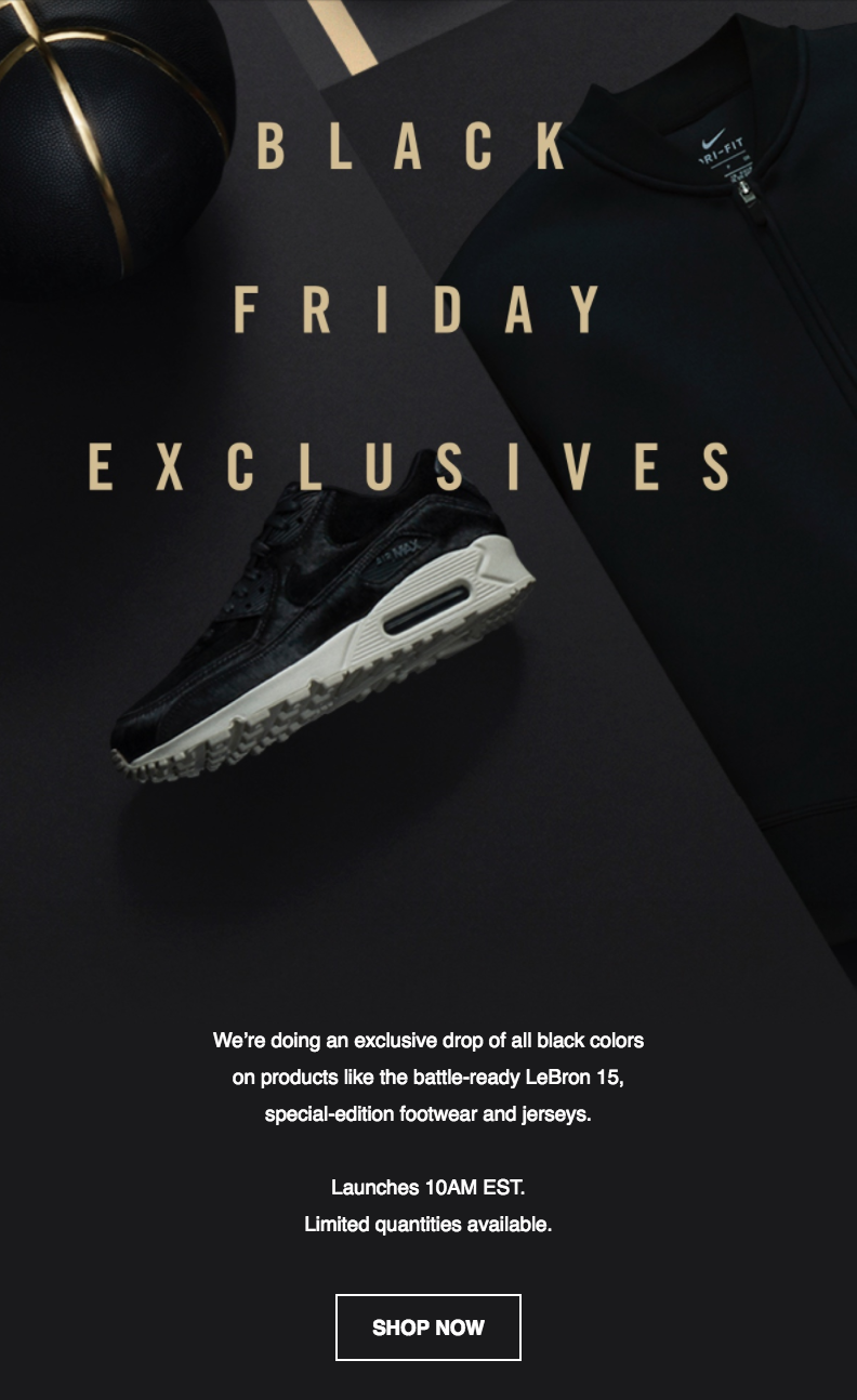 new style f58c5 adf1b Black Friday / Cyber Monday Design Recap - Really Good Emails