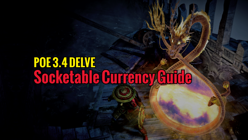 POE 3 4 Delve Socketable Currency Guide - MMO Guides - Medium