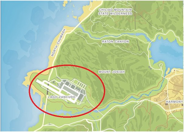Where to find a military base in GTA 5 (With Picture)