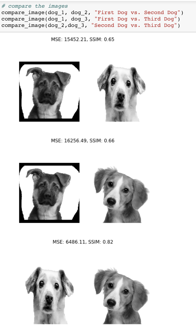 Image Classification using SSIM - Towards Data Science