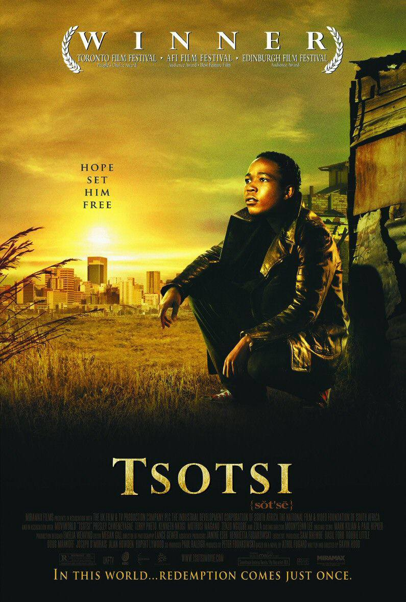 Poster for the movie Tsotsi