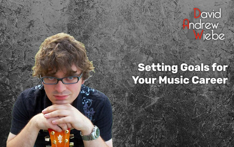 Setting goals for your music career