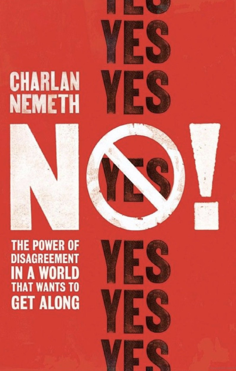 Cover of No! The power of disagreement