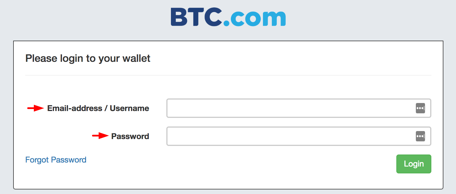 BTC com Wallet offers Replay Protection and a BSV Extraction