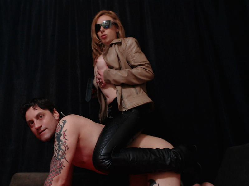 pony play with my slave