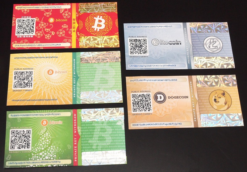 bitcoin cold storage with paper wallet