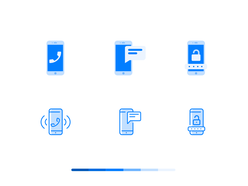 Communication icons by Dalpat Prajapati