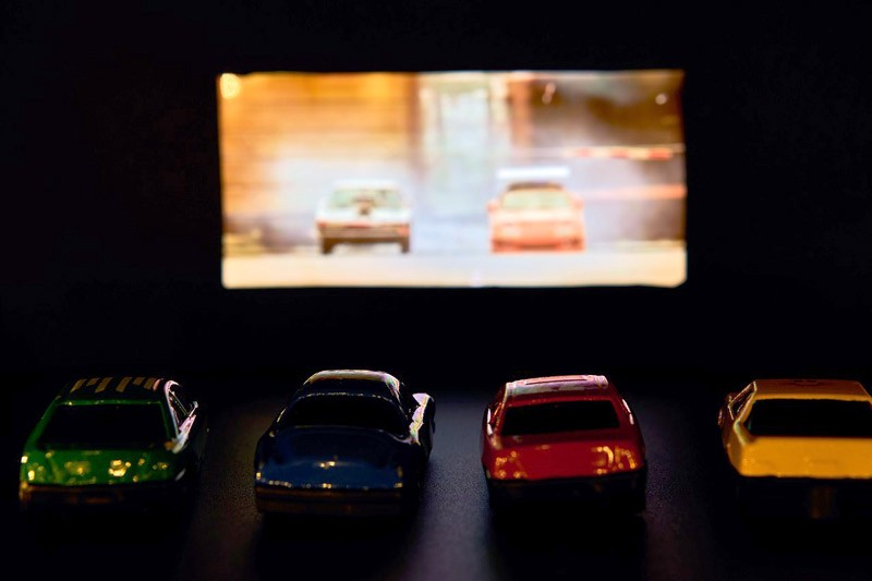 cars at drive in theater