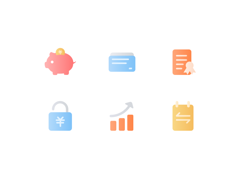 Finance and Banking icon pack by lomo69