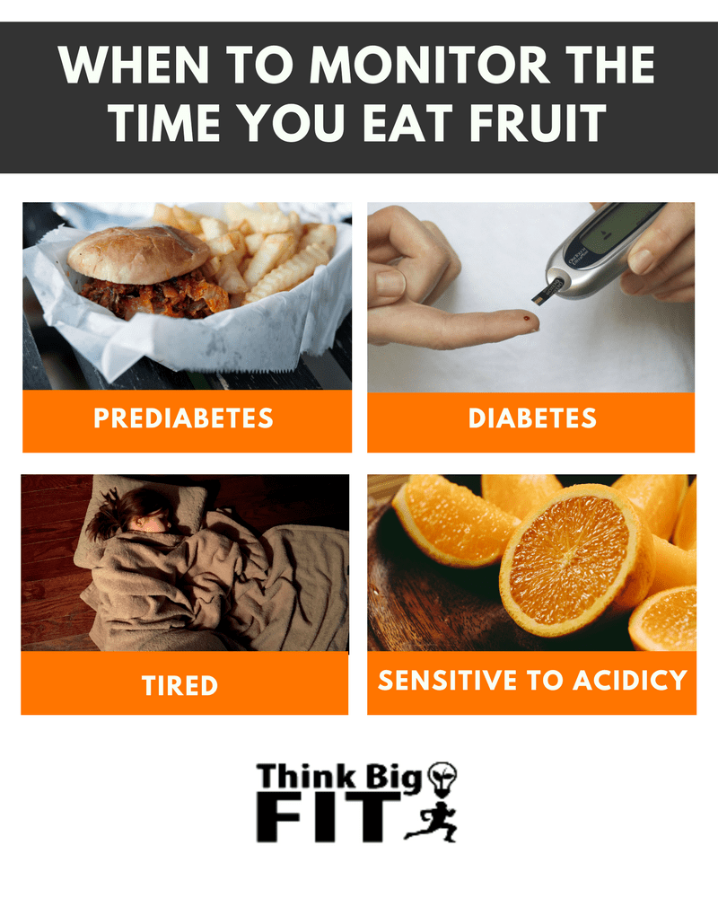 best time to eat fruit for health benefits (positives +