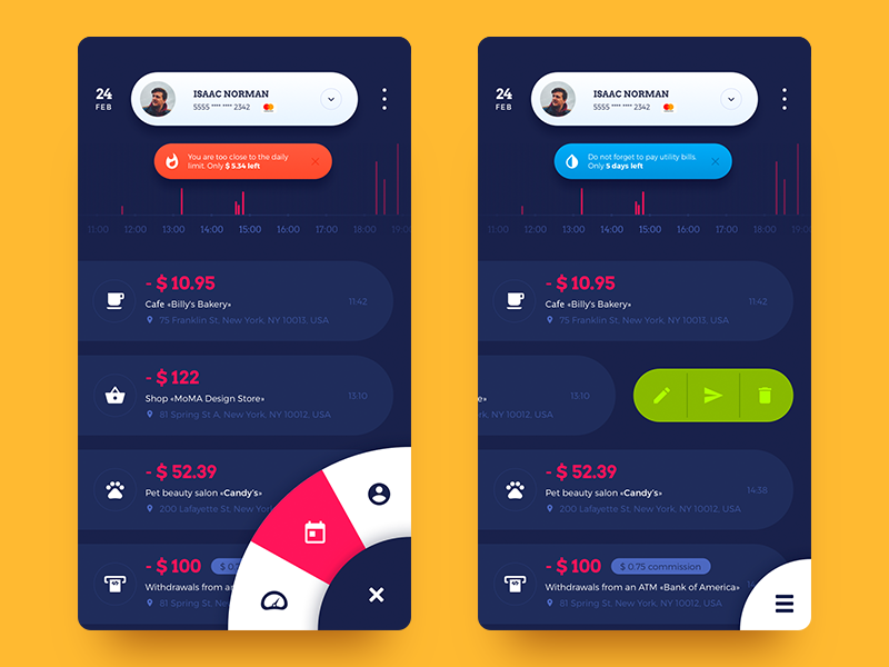 Case Study: Home Budget App  UI for Finance  - UX Planet