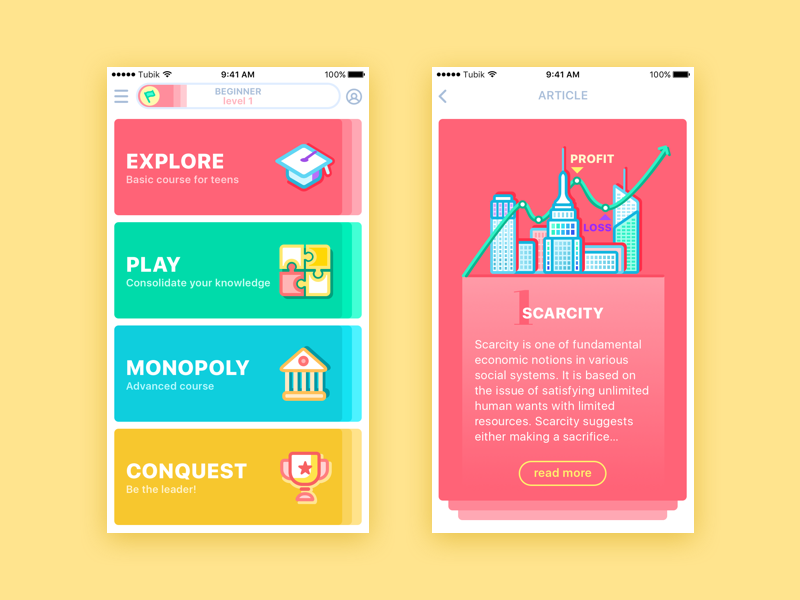 Flat Design  History, Benefits and Practice  - UX Planet