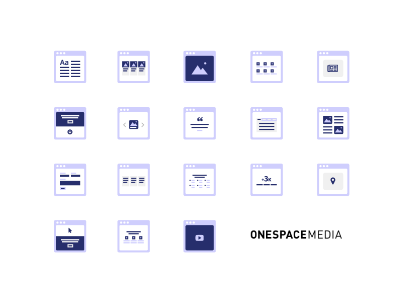 CMS Icons by Chiara Mensa
