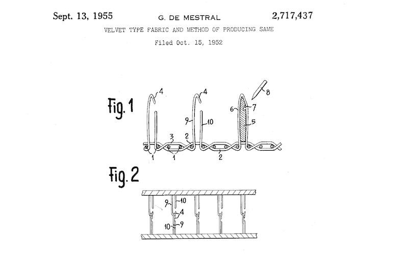 Analogical Thinking. George de Mestral's 1957 Hook and Loop Patent Application