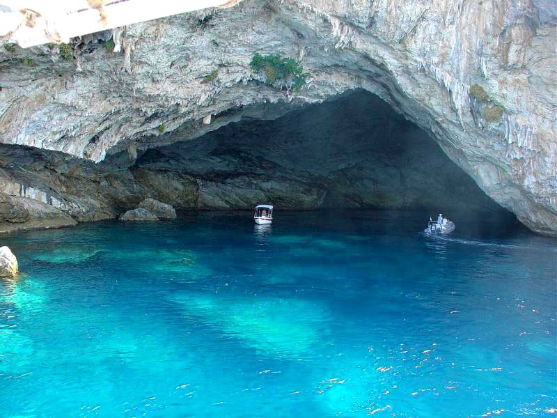 The top 10 sea caves in Greece. It is not only the beautiful beaches of… |  by Cultour | Medium