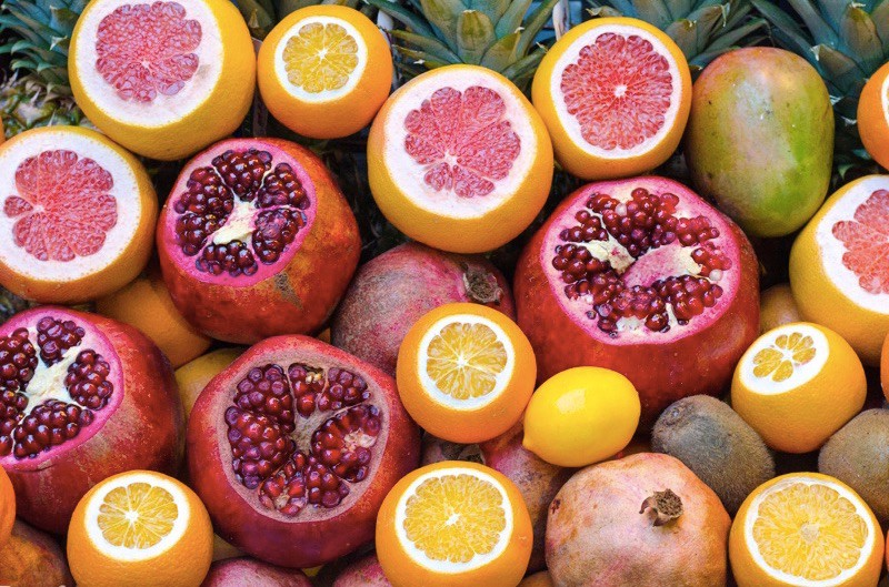 pomegranate-and-fruits