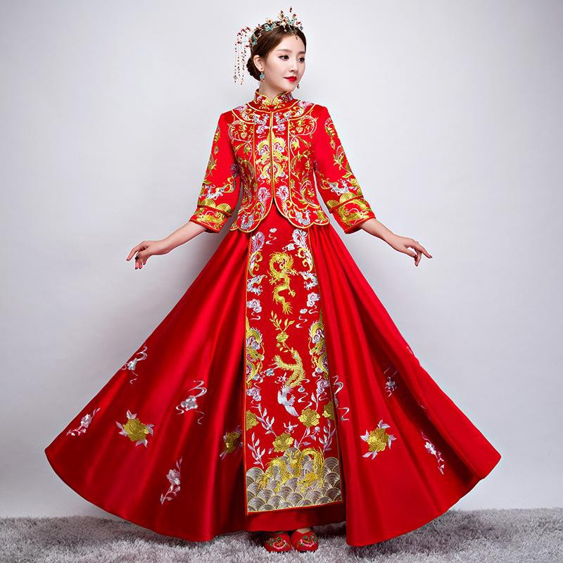 Chinese Wedding Wedding Procedures Costumes Gifts Hunlǐ