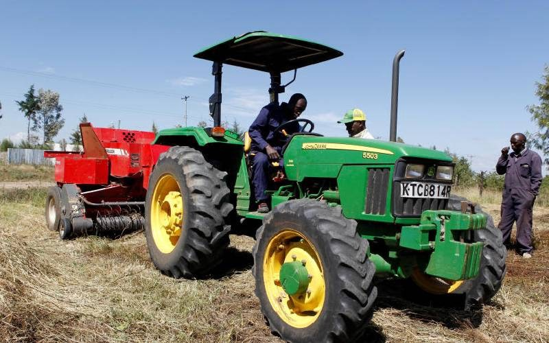 Hello Tractor is an Internet of Things technology for hiring out agricultural machinery to smallholder farmers.