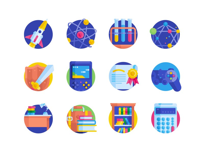 freebie nerd free flat icons by Pixelbuddha in Pixelbuddha Plus