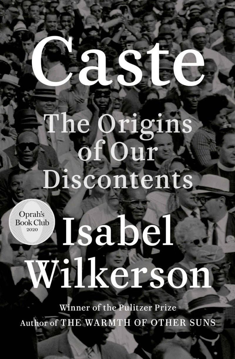 Book cover for Caste: The Origins of our Discontents by Isabel Wilkerson
