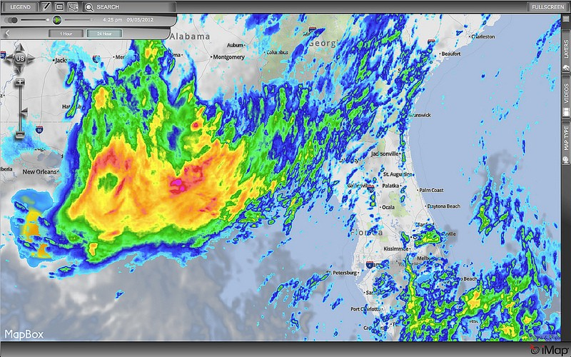 Weather Decision Technologies Switches to MapBox - Points of