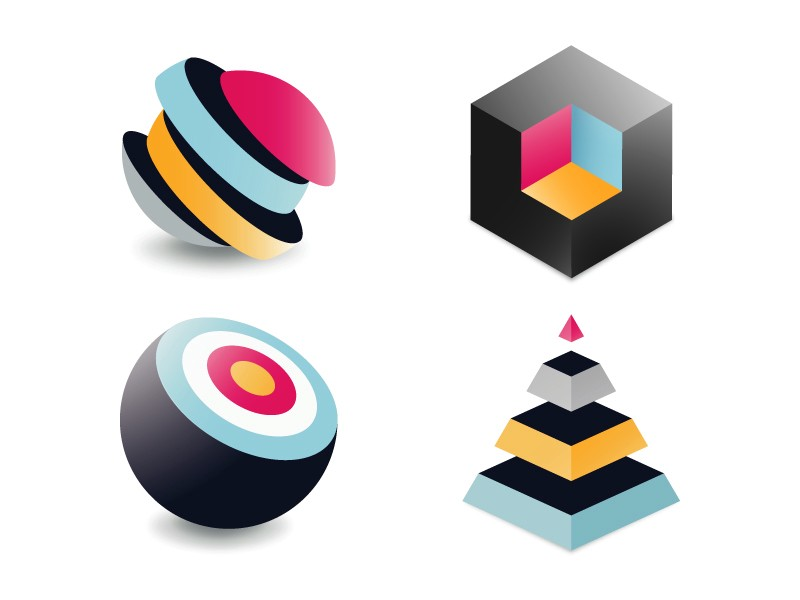 geometric-exploration-icons-by-infographic-paradise