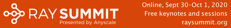 Join us hear about Ray, real-world use cases, and amazing keynotes!