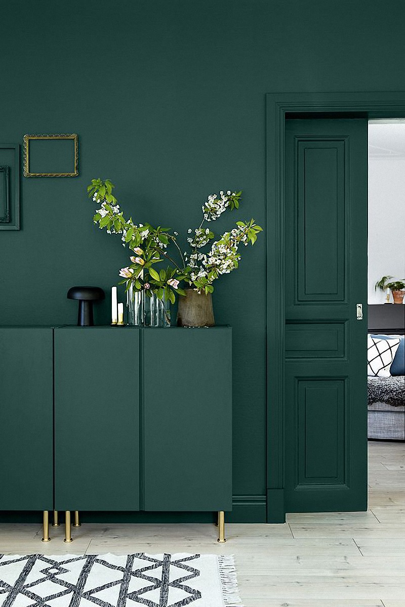 Charmant Find What Are The 3 Best Shades Of Green Wall Paint For ...