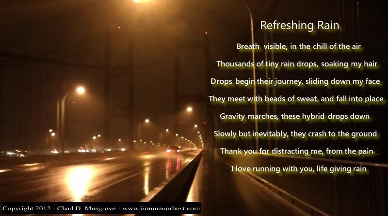 Chad's poem Refreshing Rain