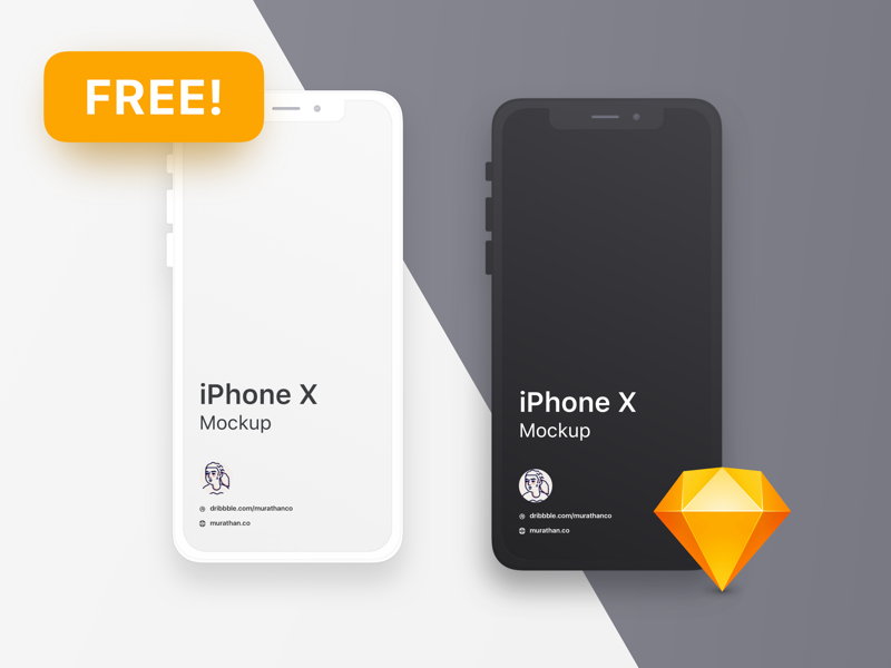 20 Free Iphone Mockups Psd Sketch March 2021 Ux Planet