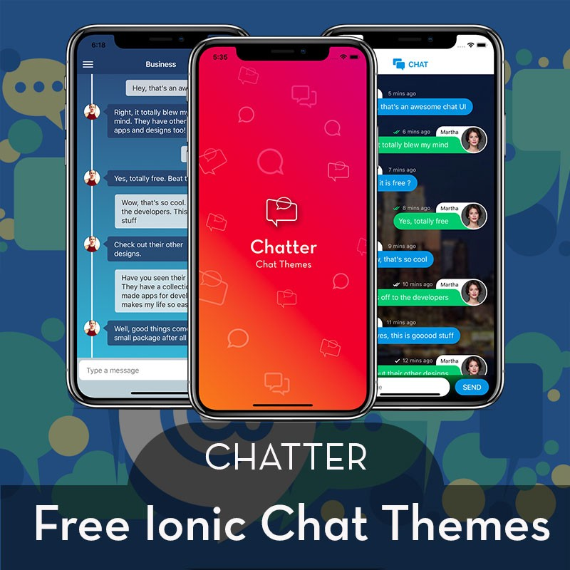 18 ready-to-use stunning IONIC and REACT NATIVE app