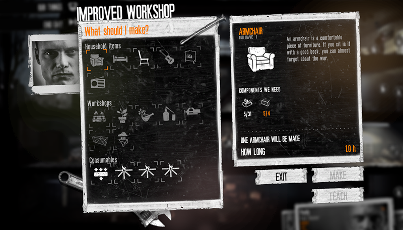 Learning From And Improving This War Of Mine A Ux Ui Analysis By Iuliana Urechi Medium