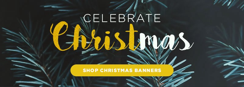This Christmas Make Your Prayers Heard With Christmas Banners
