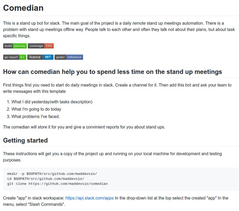 """Comedian"""" Standup Chatbot Preview: How Remote Standups Can"""