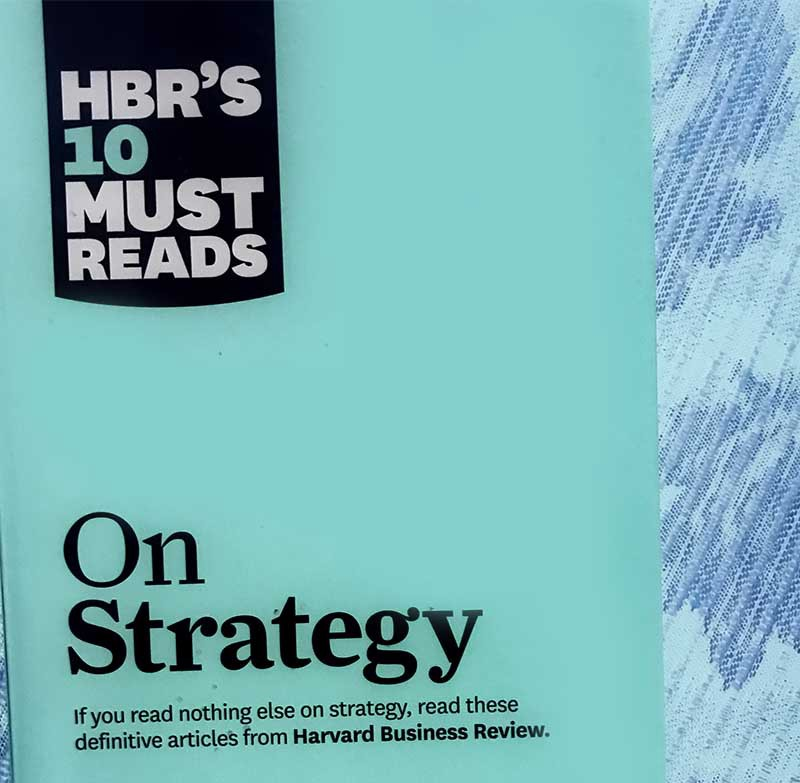HBR On Strategy book cover