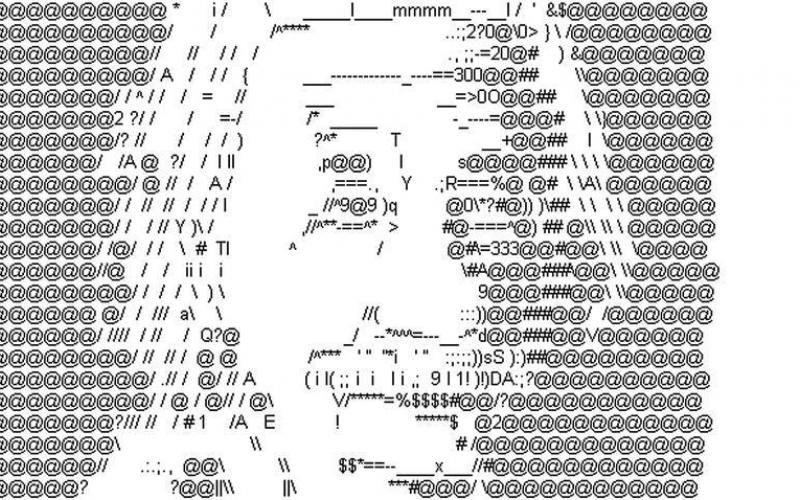 ASCII art — dead or alive?. While researching this article