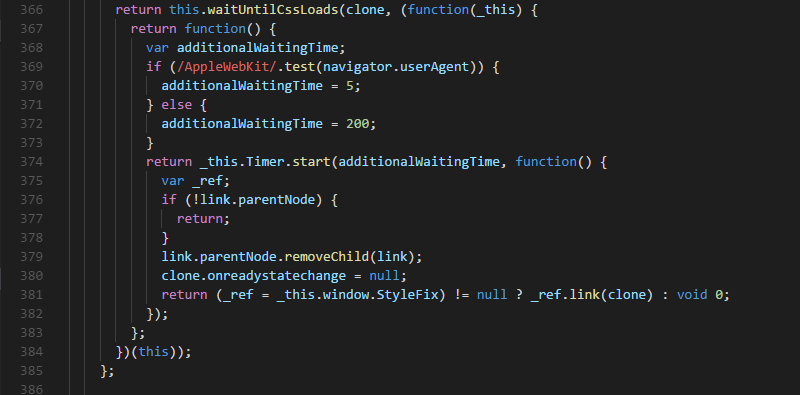 Debug stories: Change in CSS does not reload entire ionic