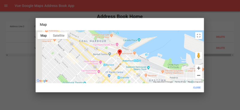 How To Use Google Maps With Vue.js Apps - Better Programming ... Get Address From Google Map on instagram address, gmail address, google aerial view of property, google home address, google web address,