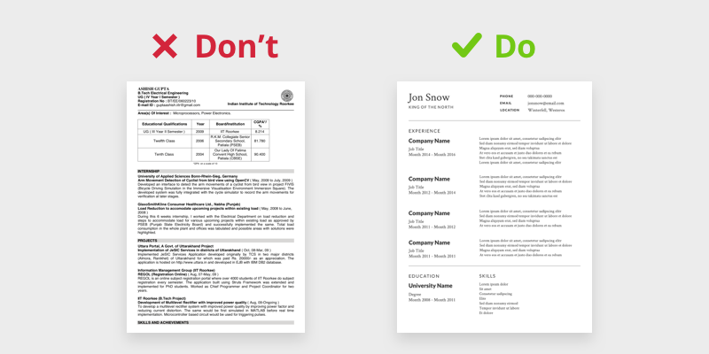How To Design Your Own Resume Things To Consider While Designing Your By Nikhil Yadav Ux Collective