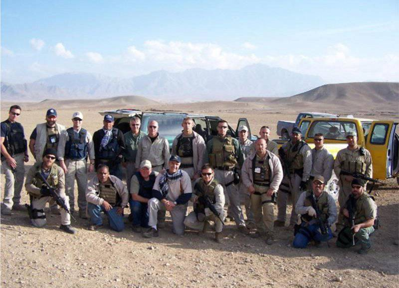 Private military contractor jobs overseas