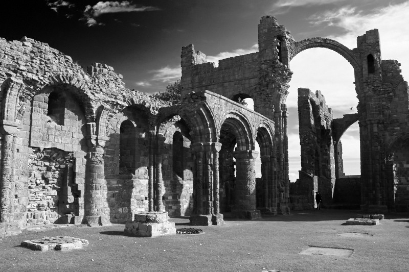Ruins of the Priory Church, Lindisfarne