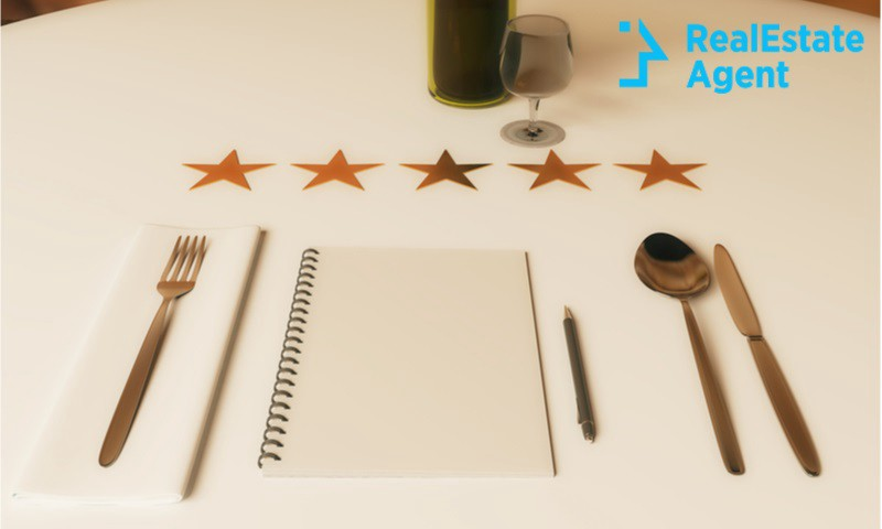 restaurant rating concept