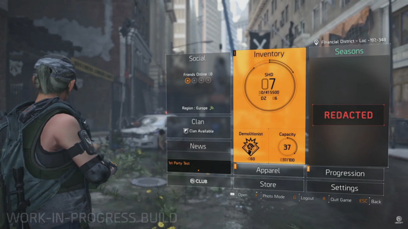 The Division 2   สรุปเนื้อหา State of the Game #149