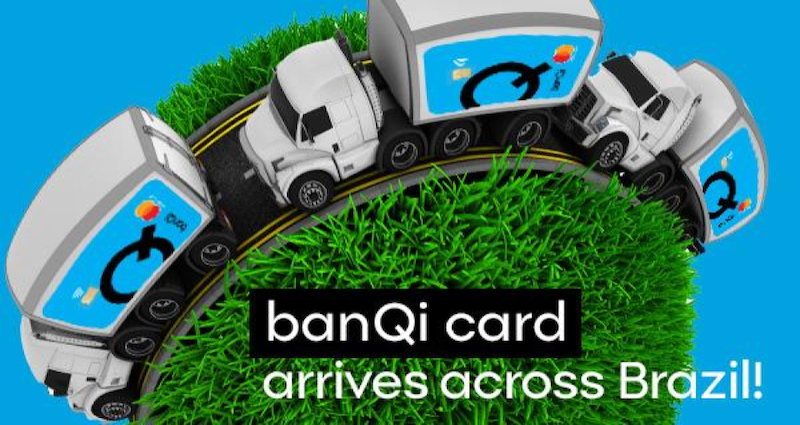 banQi cards arriving in Brazil