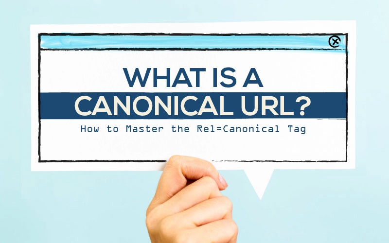What is canonical URL sign.