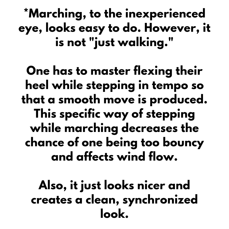 DAY IN THE LIFE: Marching Band Section Leader - The Odyssey